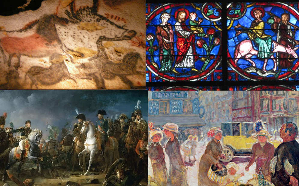 a short history of art in france