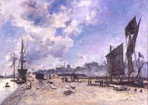 Quay at Honfleur