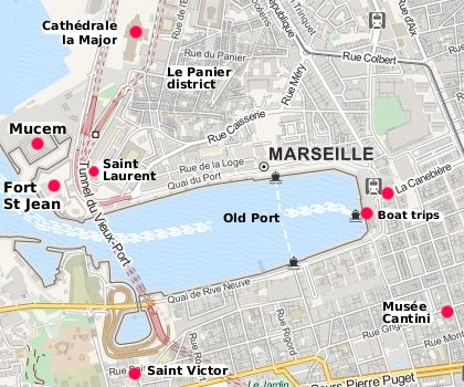 Marseilles travel and tourist information in english - Distance gare saint charles port marseille ...