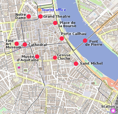Bordeaux On Map Of France.Bordeaux City Guide Essential Visitor Information In English