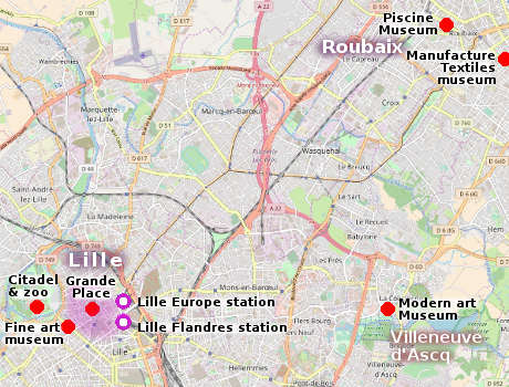 Lille Map Of France.Lille City Guide Essential Visitor Information In English