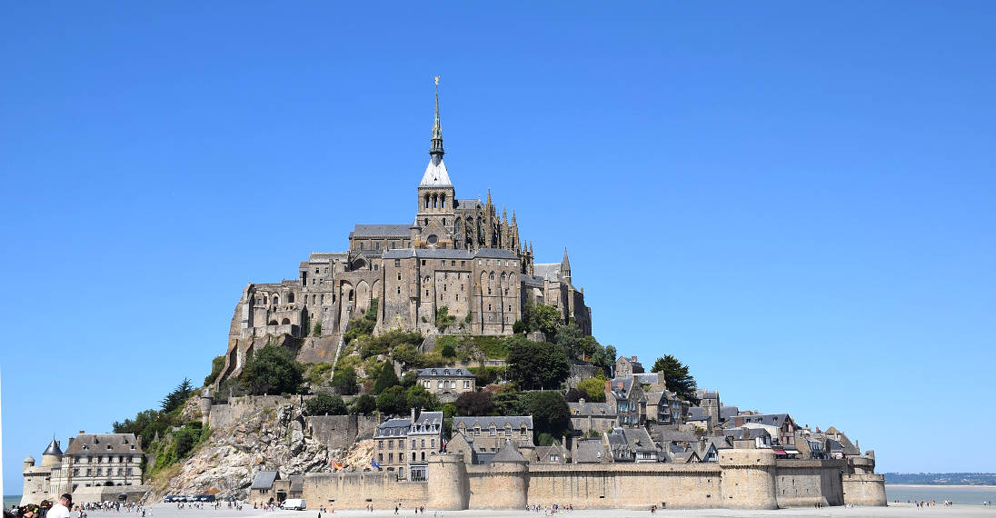 Map Of France Ks2.Mont Saint Michel France Information And Guide