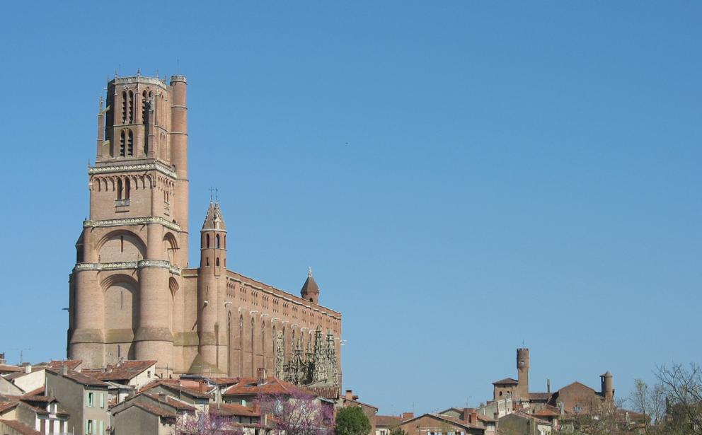 St Cecelia's cathedral Albi