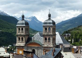 Briançon in the southern Alps
