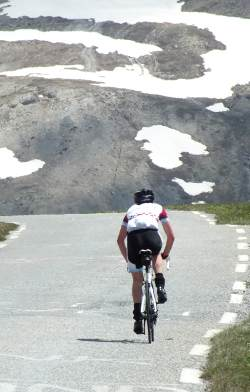 Descent from the Grand Galibier pass