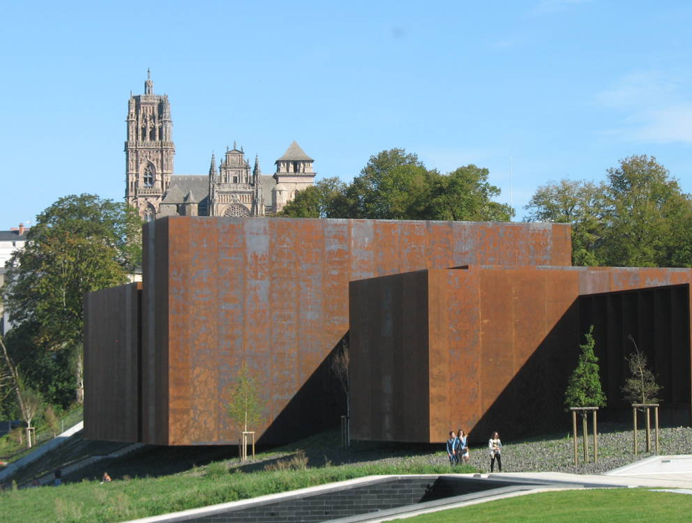 Soulages museum rodez new world class gallery - Musee soulages rodez horaires ...