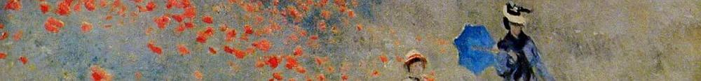 Monet - poppies at Argenteuil