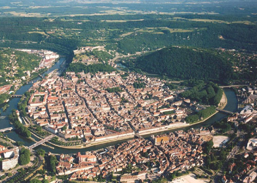 Le centre historique de Besançon