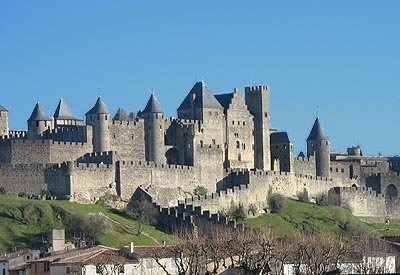 The ramparts of Carcassonne