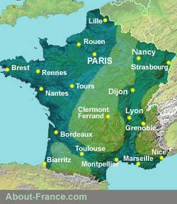 Map Of France Jura.Wildlife In France About France Com