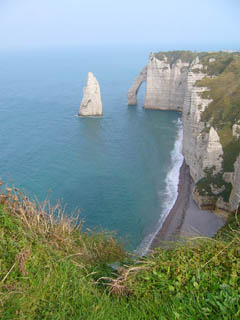 French coast - Cliffs of Etretat