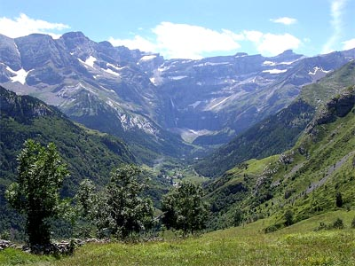 High Pyrenees national park
