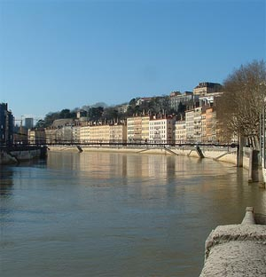 Lyon, beside the Sa�ne