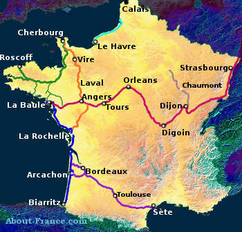 Cycling in France - cycle routes and rules