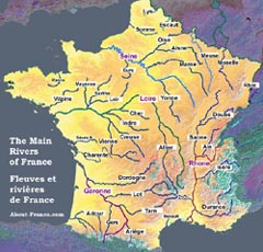 the rivers of france