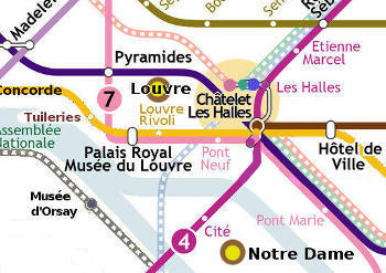 small paris metro plan