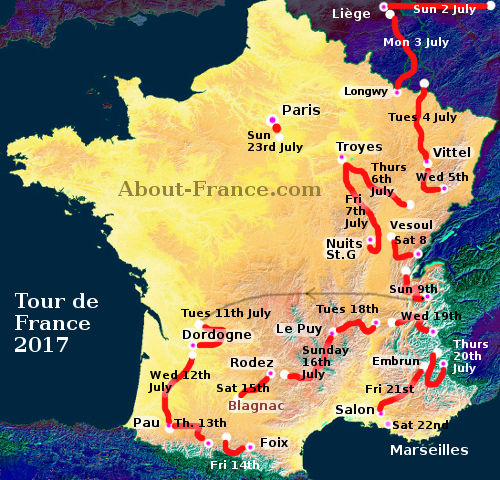 Le Tour De France Stages