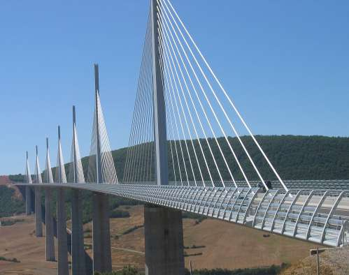 Millau Viaduct by Norman Foster