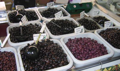 Olives on a Provence market