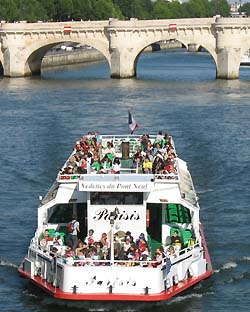 See Paris from the river