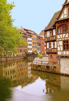 Strasbourg - from a photo by F Antunes