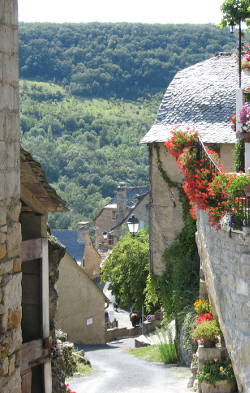 Village in the Aveyron