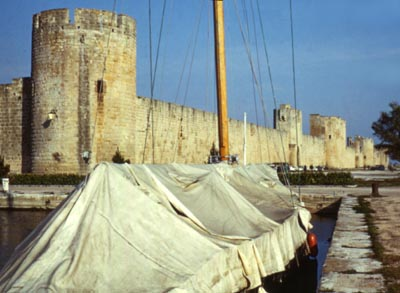 Walls of Aigues Mortes