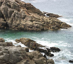 Rocky coast of Brittany