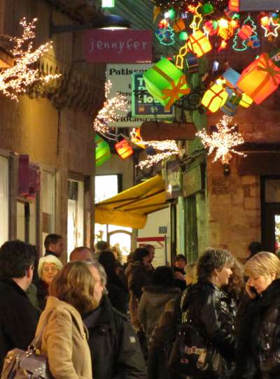 christmas shopping in France