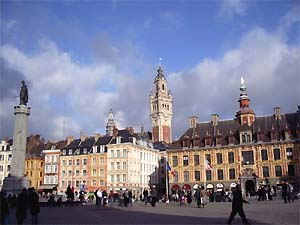 Main square, Lille