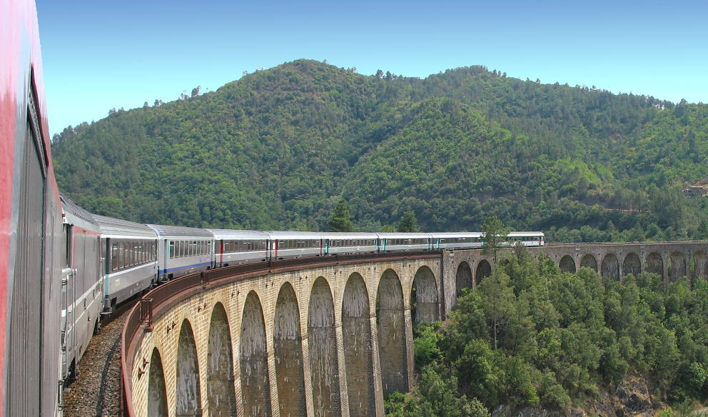 Train and rail travel in France AboutFrance – Train Travel France Map