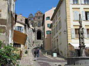 The cathedral of Le Puy en Velay