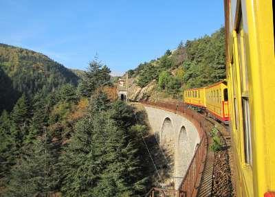 Petit train jaune des Pyrénées