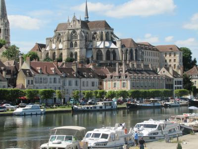 Auxerre, on the river Yonne