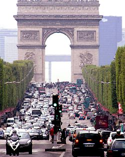 Driving in Paris