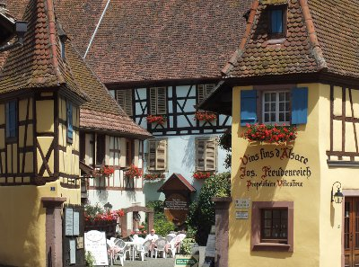 Alsace village square