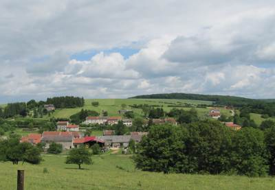 Countryside in the Meuse