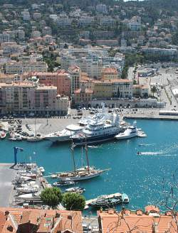 The old port at Nice
