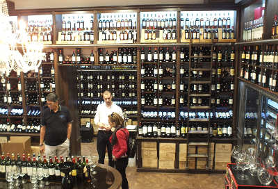 Bordeaux wine merchant