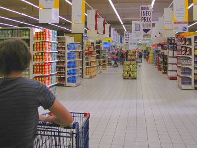 Shopping in France, hours chains and general guidance