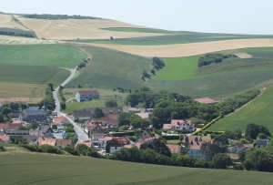 Village in north France