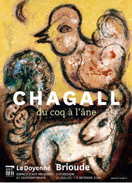 Chagall exhibition 2018 Brioude